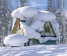 Toiture-enneigee-Snow-covered-roof